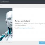 ESET AV Remover: Completely Uninstall Antivirus Programs From Windows PC