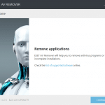 ESET AV Remover: Completely Uninstall Antivirus Programs From Windows PC