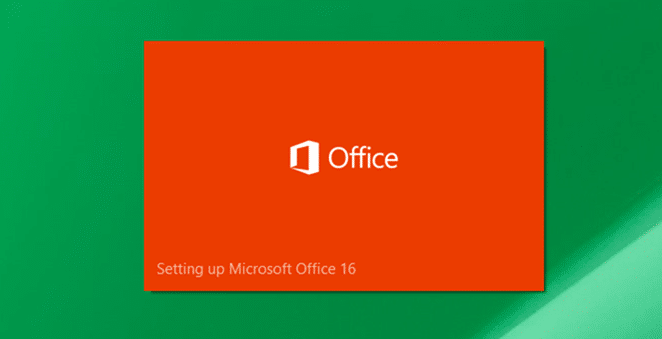 Install Office 2016 on Windows 10 Step2
