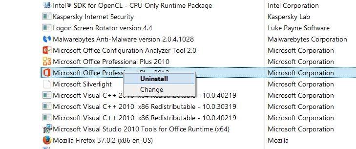 Installing Office 2016 On Windows 10