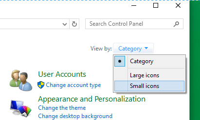 Open personalization panel Windows 10 method 42