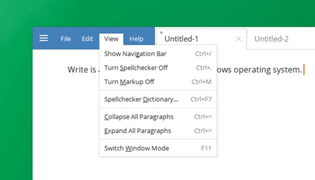 Text Editor Windows