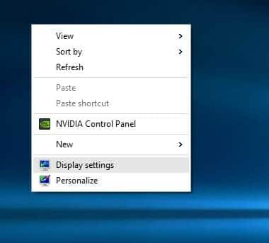how to change windows 8 screen resolution