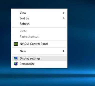 Change Screen Resolution in Windows 10 picture1