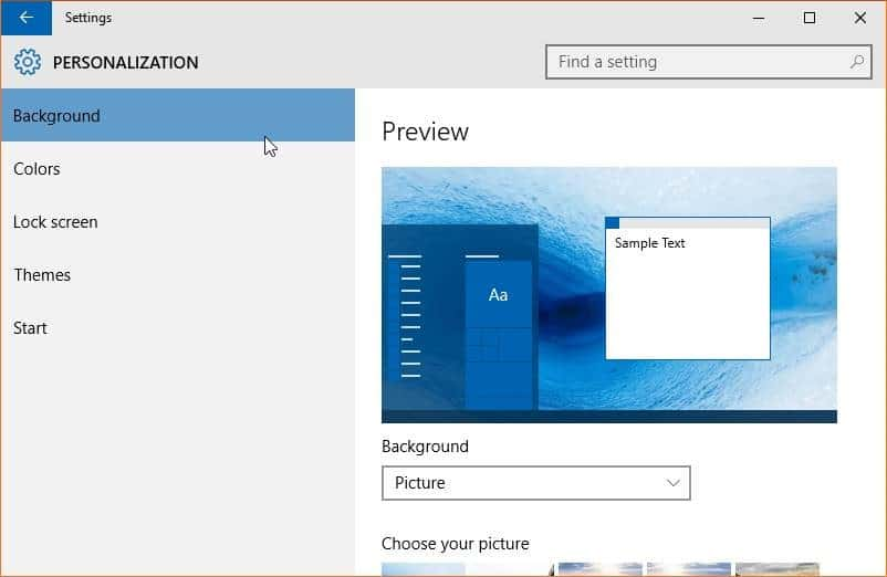 how to change to default windows theme