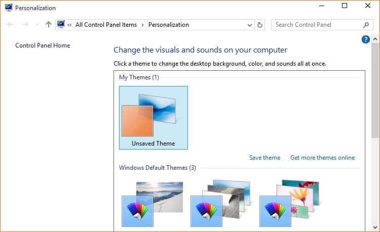 windows 10 how to change desktop colour