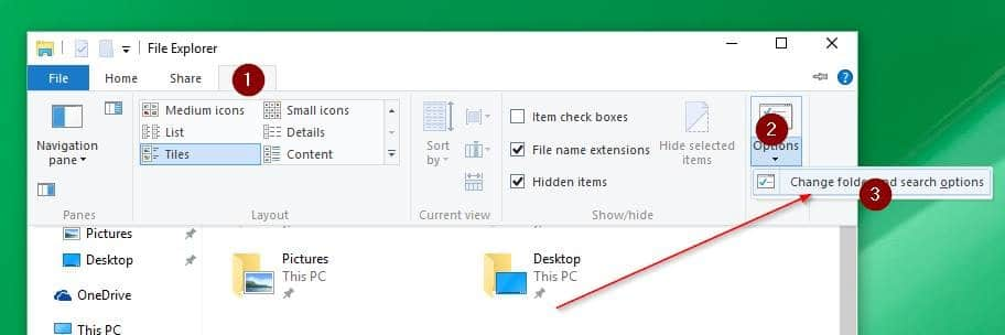 Disable Quick Access in Windows 10 picture1