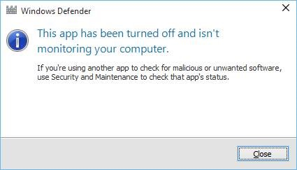 Disable Windows Defender in Windows 10 step7