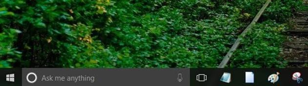 Make Taskbar transparent Windows 10 picture01