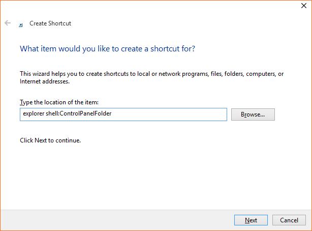 Open Control Panel Windows 10 step5