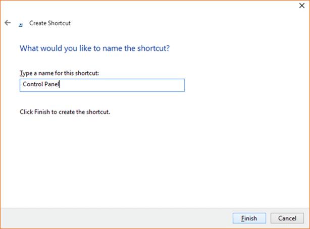 Open Control Panel Windows 10 step6