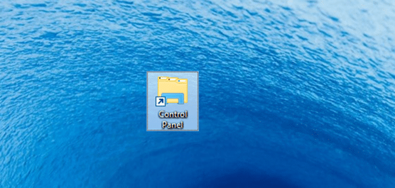 Open Control Panel Windows 10 step7
