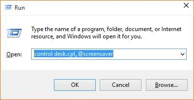 Open Screen Saver Settings in Windows 10 picture4