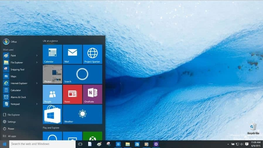 how to add apps to start menu windows 10