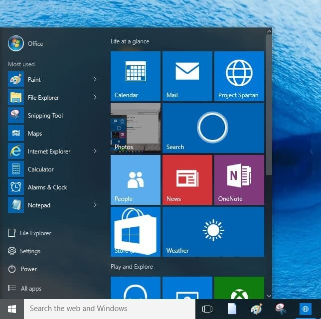 Remove most used apps from Start menu Windows 10 picture1