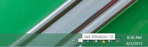 Remove Windows 10 update notification