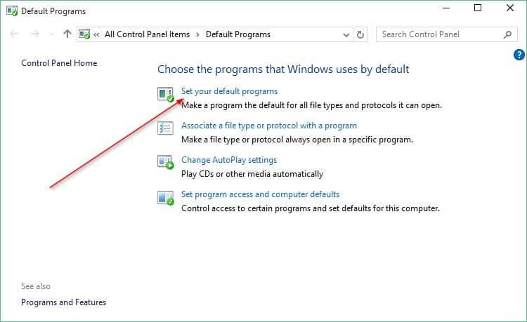 How To Set Google Chrome As Default Browser In Windows 10