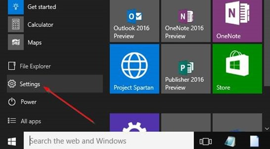 how to open startup app settings in windows 10