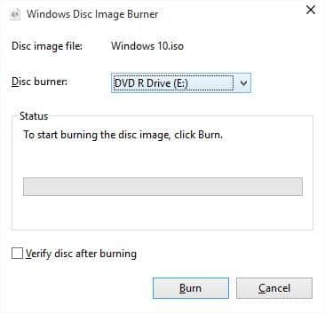 Windows 10 bootable DVD picture2