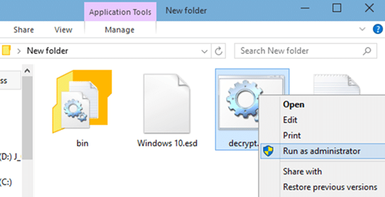 Windows 10 iso from ESD file