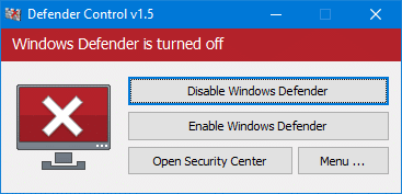 disable Windows defender in Windows 10 pic2