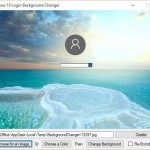 Windows 10 Login Background Changer Tool