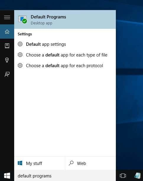 Change Default Browser In Windows 10 step6