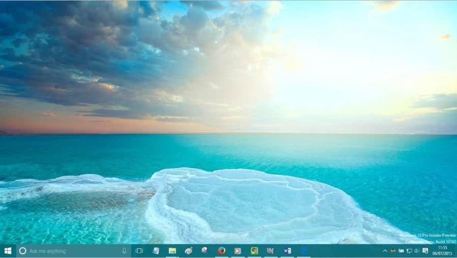 Change desktop background Windows 10