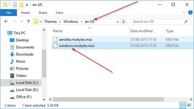 Change title bar color in Windows 10 step8