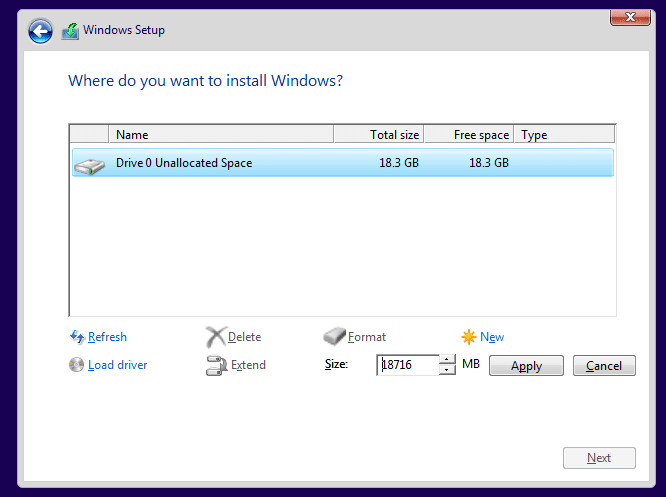 how to reinstall win 10 from usb
