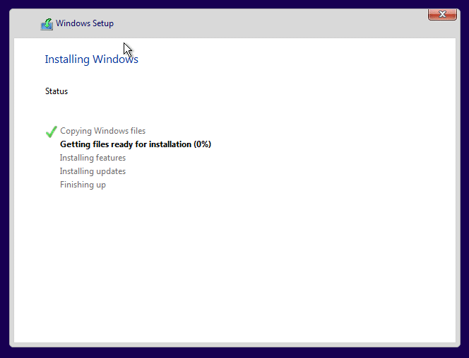 Clean install Windows 10 Step12