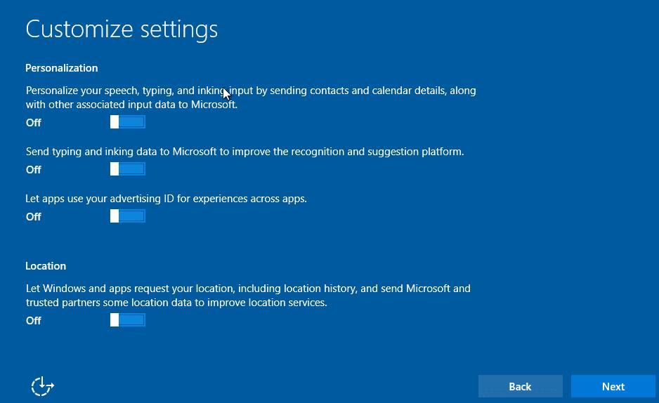 Clean install Windows 10 Step14