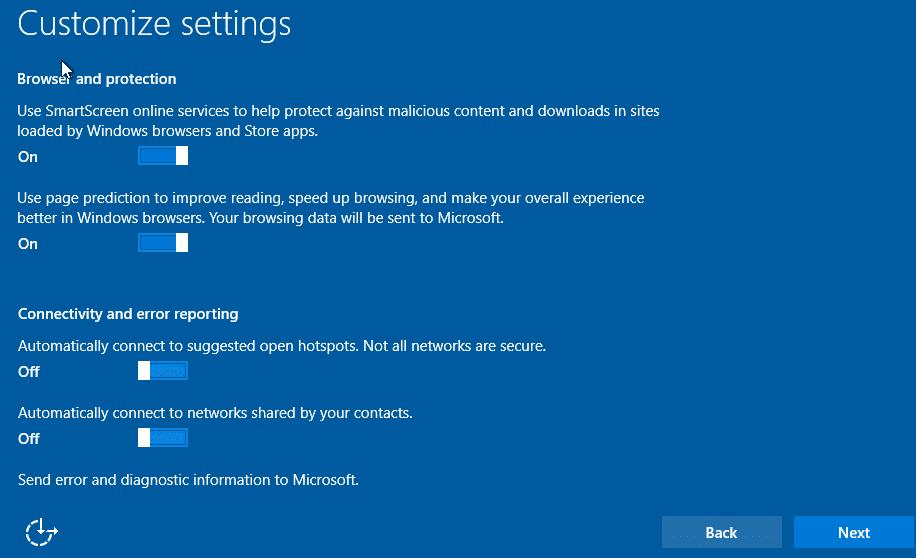 Clean install Windows 10 Step15