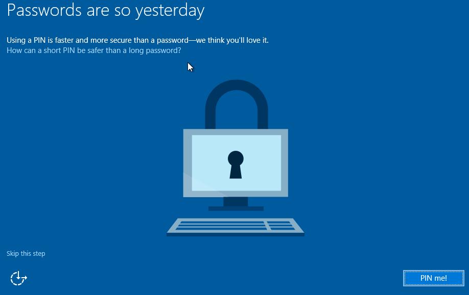 Clean install Windows 10 Step19