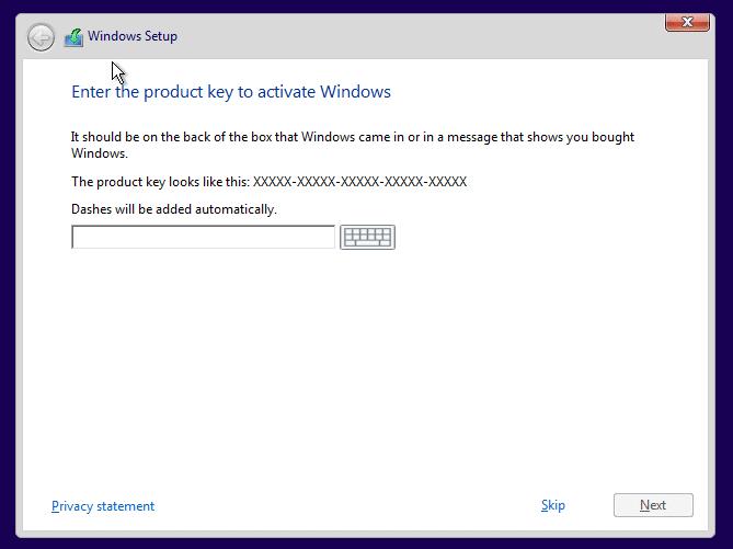 Clean install Windows 10 Step5