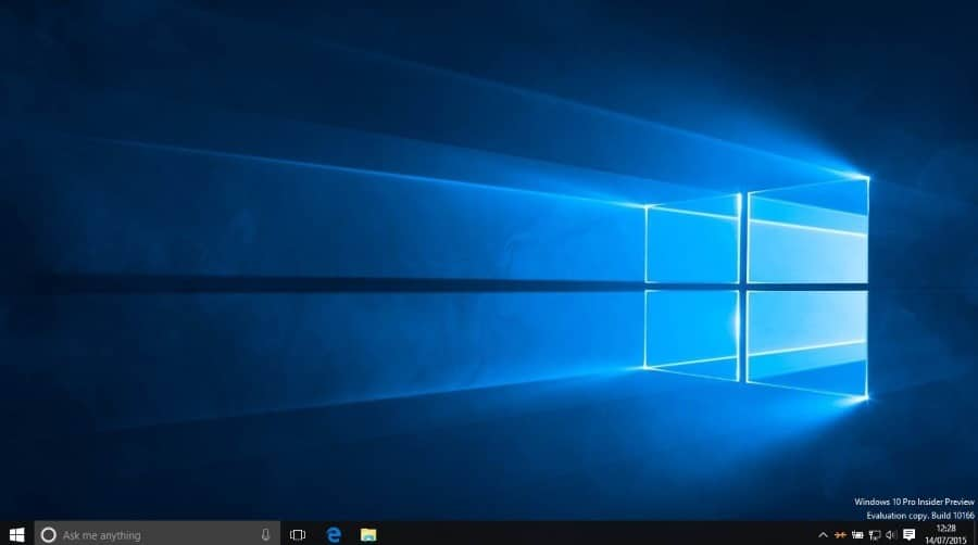 Clean install Windows 10 last step