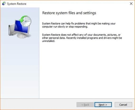 Create a Restore Point in Windows 10 step10