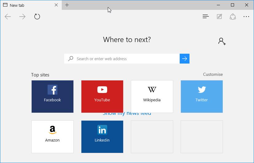 Difference between Windows 10 and Windows 8 or 8.1 EDge