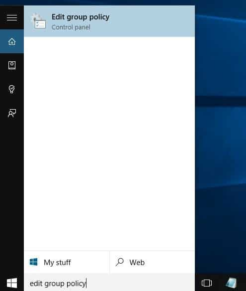 how to turn off group policy windows 10