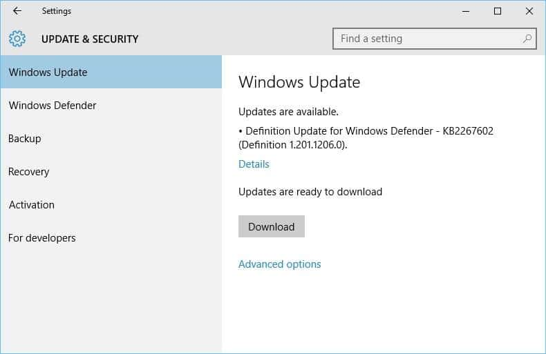 How to disable windows update in windows 10 for Windows 10 update