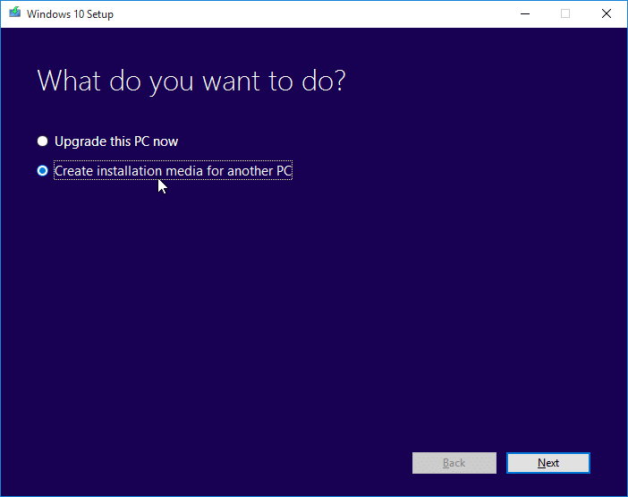Download Windows 10 ISO step01