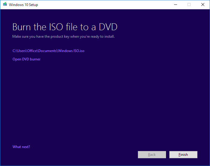 Download Windows 10 ISO step10