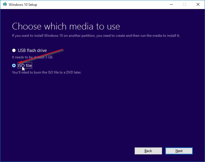 Download Windows 10 ISO step4