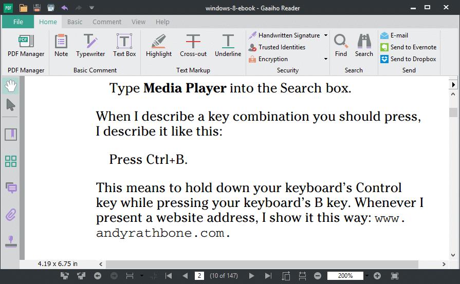 Free PDF Readers for Windows 10 Gaaiho PDF