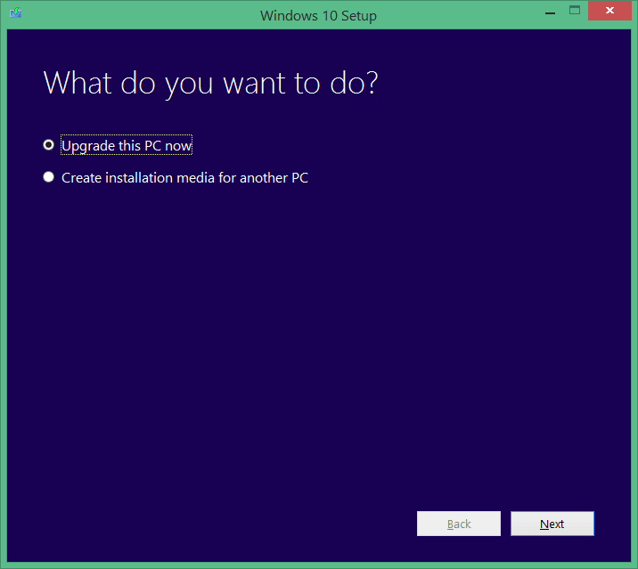 upgrade your windows 7 to windows 10 step1