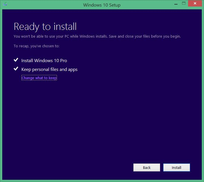 Upgrade your Windows 7 to Windows 10 step12
