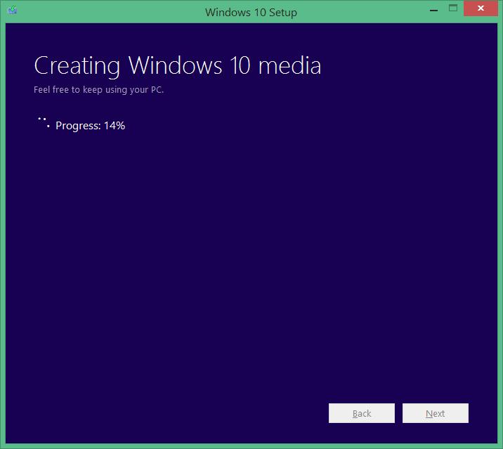 Upgrade your Windows 7 to Windows 10 step3
