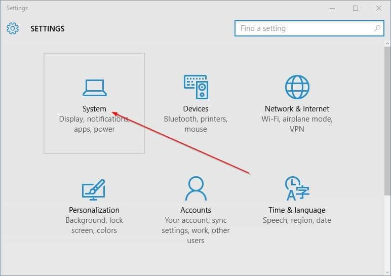change default install location of apps in Windows 10 step2.PNG