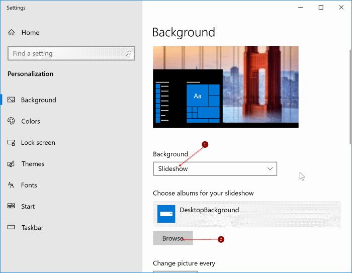 change desktop background in Windows 10 pic4