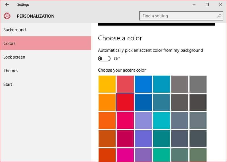 How to change window border color in windows 10 for Change windows